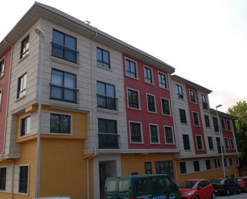 edificio viviendas redondela