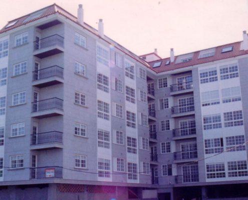 edificio de viviendas en vilagarcía